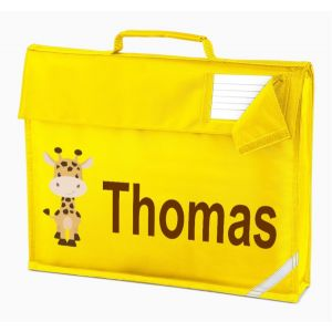 Giraffe Any Name Book Bag