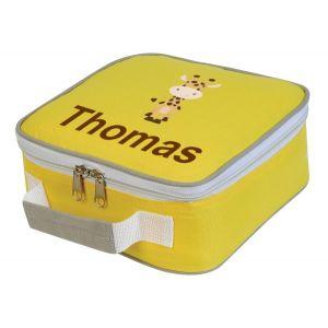 Giraffe Any Name Lunch Box Cooler Bag