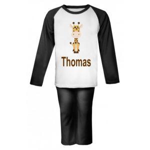 Giraffe Any Name Childrens Pyjamas