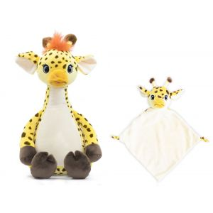 Tumbleberry Giraffe Cubbie & Blankie Gift Set