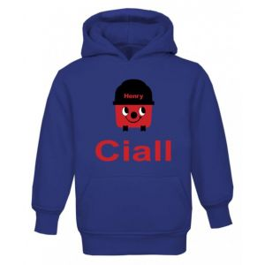 Henry Hoover Any Name Childrens Hoodie