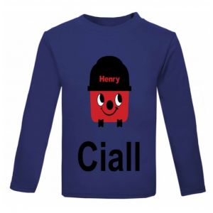 Henry Hoover Any Name Childrens Printed T-Shirt