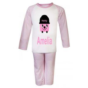 Hetty Hoover Any Name Childrens Pyjamas