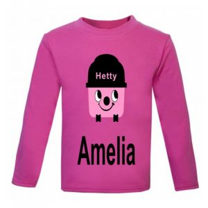 Hetty Hoover Any Name Childrens Printed T-Shirt