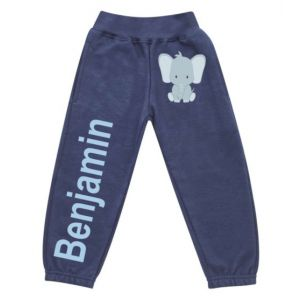 Elephant Any Name Childrens Jogging Bottoms