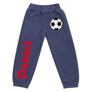 Football Any Name Childrens Jogging Bottoms