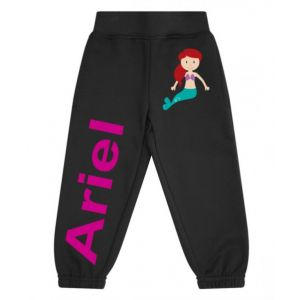 Mermaid Any Name Childrens Jogging Bottoms