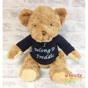 Keel Eco Teddy Bear with Knitted Jumper