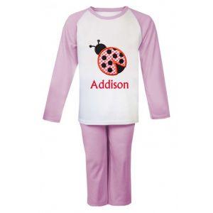 Ladybird Any Name Embroidered Pyjamas