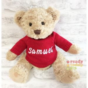 Sherwood Teddy Bear with Knitted Jumper