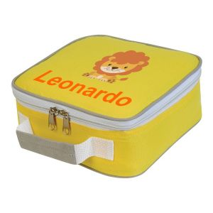 Lion Any Name Lunch Box Cooler Bag