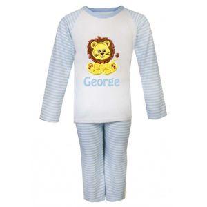 Lion Any Name Embroidered Pyjamas