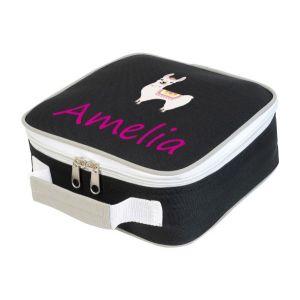 Llama Any Name Lunch Box Cooler Bag