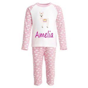 Llama Any Name Childrens Pyjamas