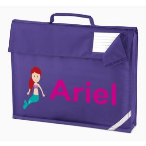 Mermaid Any Name Book Bag