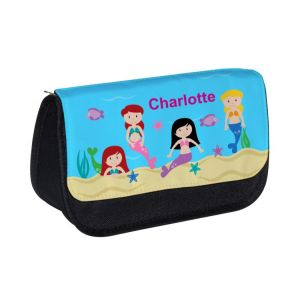 Mermaids Any Name Pencil Case