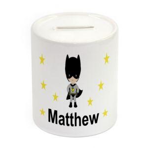 Super Bat Boy Ceramic Money Box