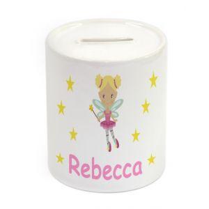 Fairy Ceramic Money Box