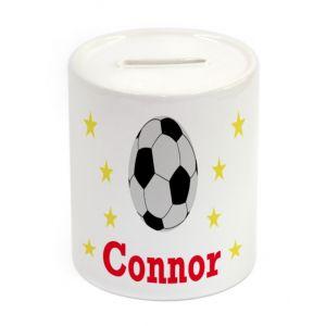 Football Ceramic Money Box