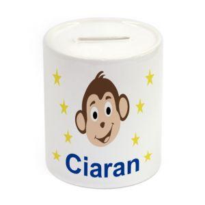 Monkey Ceramic Money Box