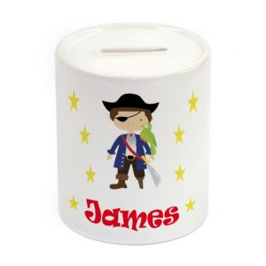 Pirate Ceramic Money Box