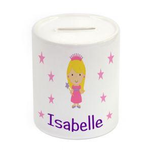 Princess Ceramic Money Box
