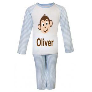 Monkey Any Name Childrens Pyjamas