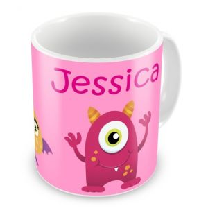 Monsters Girls Any Name Mug