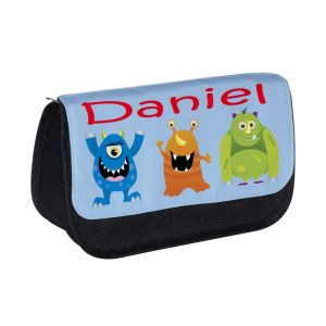 Monsters (Boy) Any Name Pencil Case