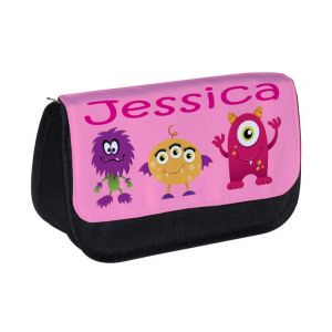 Monsters (Girl) Any Name Pencil Case