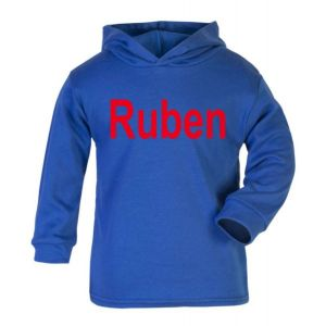 Any Name / Text Childrens Cotton Hoodie
