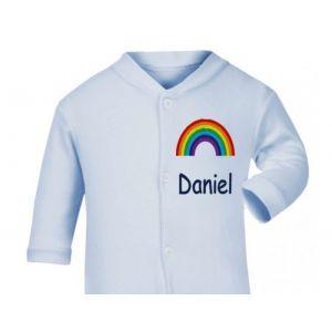 Any Name Rainbow Baby Sleepsuit