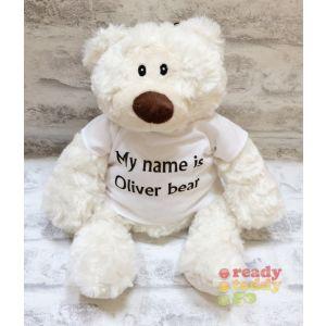 Oliver Cream Teddy Bear