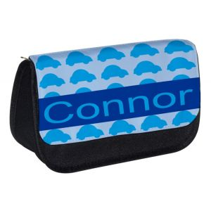 Cars Repeat Pattern Any Name Pencil Case