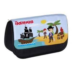 Pirates Any Name Pencil Case