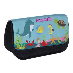 Under The Sea Any Name Pencil Case