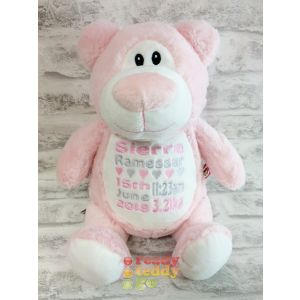 Cubbyford The Pink Bear