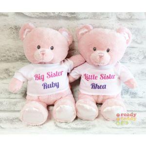 Baby Teddy Bear Pink - Angel Wings T-Shirt