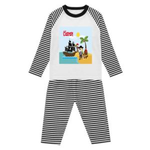 Pirates Any Name Childrens Pyjamas