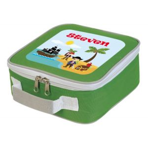 Pirates Any Name Lunch Box Cooler Bag