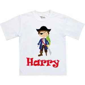 Pirate Any Name Childrens T-Shirt