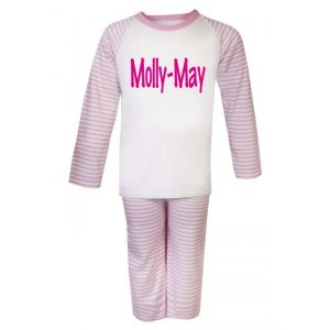 Any Name / Text Childrens Pyjamas