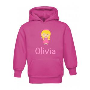 Princess Any Name Childrens Hoodie