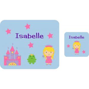 Princess Castle Hardboard Placemat & Coaster
