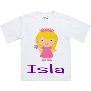 Princess Any Name Childrens T-Shirt