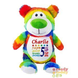 Cubbyford The Rainbow Bear