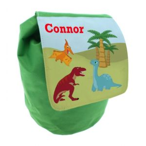 Dinosaurs Any Name Toddler Backpack