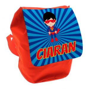 Super Hero Any Name Toddler Backpack