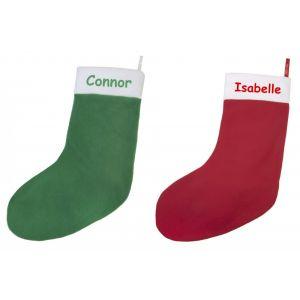Any Name Large Christmas Stocking