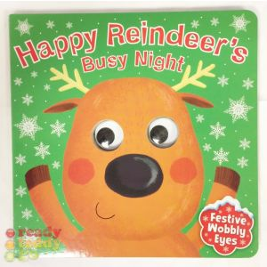 Happy Reindeer's Busy Night Christmas Children's Storybook